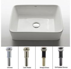 """$119.95 comes with faucet 18 4/5"""" Kraus KCV-121"""