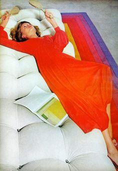 Vogue Editorial November 1973 - Cheryl Tiegs & Denise Hopkins by Kourken Pakchanian