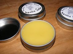 Live In Art: Making Arnica Salve