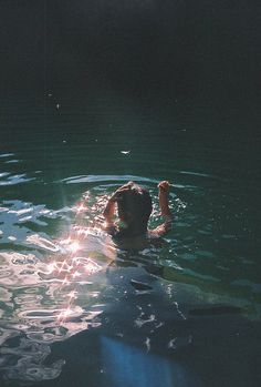 I love to swim, it clears my head to be under the water, weightless and such.
