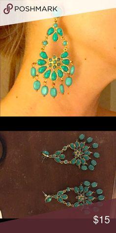 Turquoise chandelier earrings Turquoise chandelier earrings Jewelry Earrings