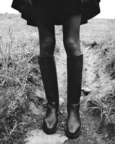 Thick Leather, Calf Leather, Tall Boots Outfit, Derby, Riding Boots, Combat Boots, Images Instagram, Fashion Gone Rouge, Black Boots