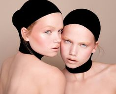 Beautiful redhead twins Inka and Neele Hoeper