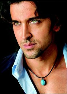 Hrithik Roshan. ♥ his eyes!
