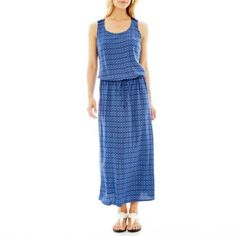 a.n.a Sleeveless Pleated Maxi Dress  found at @JCPenney