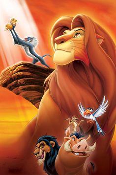 Walt Disney Characters, Film Disney, Best Disney Movies, Disney Posters, Disney Cartoons, Disney Art, Watch The Lion King, The Lion King 1994, Lion King Movie