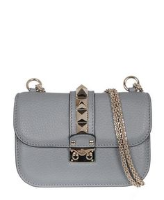 Notes Valentino grained leather shoulder