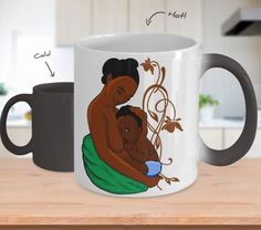 Mother's Milk Color Changing Mugs
