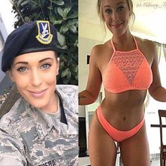 Beautiful and sexy women in and out of uniform Good Woman, Gorgeous Women, Amazing Women, Beautiful Body, Girls Out, Hot Girls, Military Girl, Bd Comics, Female Soldier