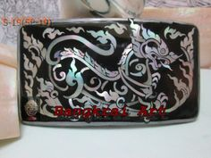 mother of pearl handicraft (wranger's buckle)
