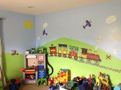 Toddler big boy room