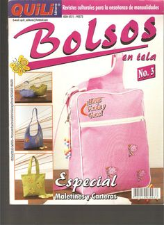 BOLSOS EN TELA QUILI Nº 3 - Mary.8 - Álbumes web de Picasa