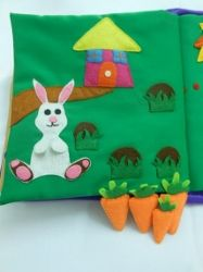 All the carrots are removable. Rabbit can even hold a carrot!