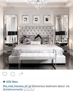 People Also Love These Ideas. Glam Bedroom