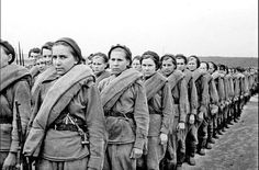 World War II Soviet snipers. ISIS men won't go to their heaven if killed by a female sniper