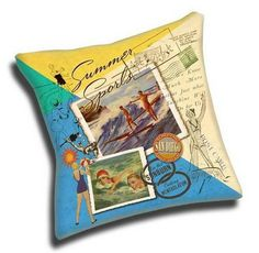 custom vintage style pillows