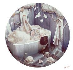 Kate Murmuri- cute girl in tub