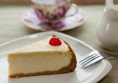 Lemon cheesecake. Sernik cytrynowy.