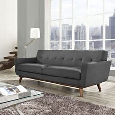 awesome grey couch living room intended for Your house Check more at http://bizlogodesign.com/grey-couch-living-room-intended-for-your-house/