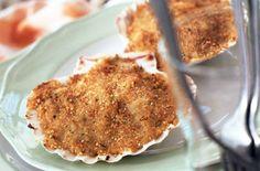 Capesante gratinate alla veneziana - Le capesante sono un classico della cucina francese dove si consumano in particolare nel periodo natalizio