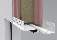 R51_BEAD_FRAME Door Sets, Secret Rooms, Steel Doors, Diy Frame, Minimalist Design, Diy Projects, Shelves, Architecture, Door Frames
