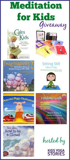 Meditation for Kids Giveaway (multiple winners) | Kids Yoga Stories