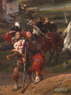 Bataille d'Alma Military Diorama, Military Art, Military History, British Army Uniform, British Uniforms, Standardbred Horse, Army List, Crimean War, French Empire