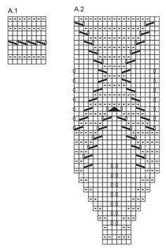 Ylhäältä alas neulottu lehtikuvioinen DROPS kaarrokepusero Muskat-langasta. Koot S – XXXL. Ilmaiset ohjeet DROPS Designilta.
