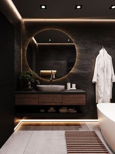 Washroom Design, Bathroom Design Luxury, Modern Bathroom Design, Modern House Design, Modern Luxury Bathroom, Luxury Bathrooms, Home Room Design, Dream Home Design, Home Interior Design