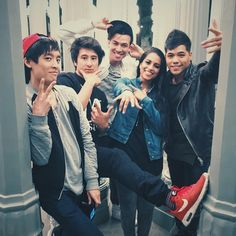 Dtrix, Superwoman, Chceng Loew, Julien Bam and Gong Bao
