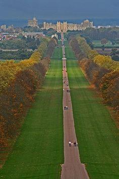 Day 3 - London - Windsor Castle The Long Walk, Windsor Castle (just outside London!)