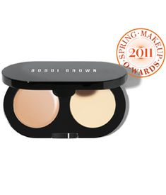This concealer kit literally works magic. For real. Go to a Bobbi Brown counter and have them put it on you. I was shocked how great it looked.