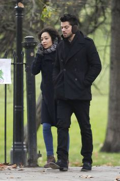 Celebrity Gossip & News | Preacher's Dominic Cooper and Ruth Negga Have a Far More Traditional Relationship Off Screen | POPSUGAR Celebrity UK Photo 15