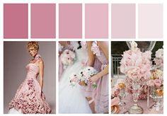 Dusky Pink Wedding Colour Inspiration Board - Designcat Weddings