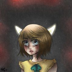 Fran Bow shared from buttsandpieces on Tumblr