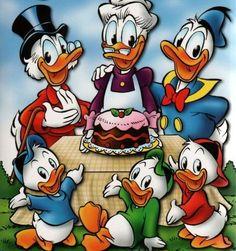 Disney Duck, Disney Love, Disney Magic, Disney Art, Duck Cartoon, Mickey Mouse Cartoon, Mickey Mouse And Friends, Classic Disney Characters, Walt Disney Characters