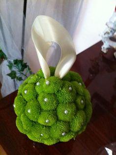 Green Pomander :  wedding 298160 2176222497136 1594072255 32104635 794653 N