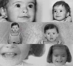 Galilea Montijo comparte tiernas fotos de su infancia