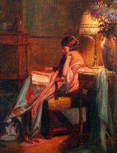 Delphin Enjolras, Evening Reading