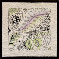 Zen Quilting piece by Michelle Jackson
