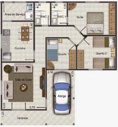 60 Trendy Home Plans Craftsman Design New Home Designs, Home Design Plans, Plan Design, Bungalow Haus Design, House Design, Dream House Plans, House Floor Plans, House Construction Plan, Apartment Plans