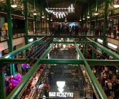 HALA KOSZYKI  is the first and the only food market hall in Poland. Eighteen fabulous restaurant concepts, eleven fantastic groceries and service premises - Warsaw's Śródmieście regained its lost pearl.