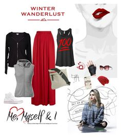"""winter wanderlust"" by mrs-awesome735 ❤ liked on Polyvore featuring Needle & Thread, Velvet by Graham & Spencer, Converse, Prada, The North Face, BEA, American Eagle Outfitters, Tom Ford, FOSSIL and Harrods"