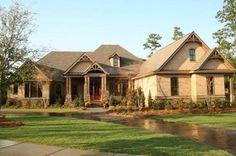 Plan 60066RC: 5 Bedroom Magnificent Craftsman Home