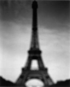 Hiroshi Sugimoto  Eiffel Tower 1998 gelatin-silver print