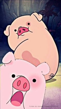 pig and pink