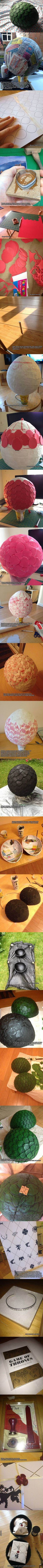 How to make your own Game of Thrones dragon eggs