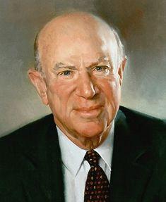 Laurence A. Tisch (detail)  by John Howard Sanden