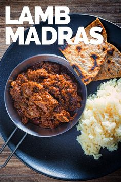 A Madras Curry in a typical British Indian Curry House has become synonymous with a hot, spicy curry and not much else, my version has more complex flavours but still with a punch of heat from chili and pepper. Lamb Recipes, Spicy Recipes, Curry Recipes, Indian Food Recipes, Asian Recipes, Cooking Recipes, Healthy Recipes, Chicken Recipes, Lamb Madras