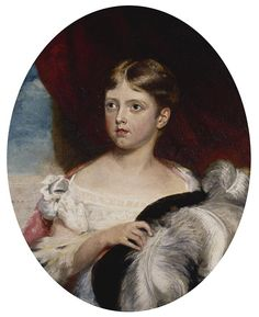 Queen Victoria (1819-1901) as a Girl   Royal Collection Trust looks very like Princess Beatrice of York